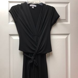Black Michael kors maxi tie dress